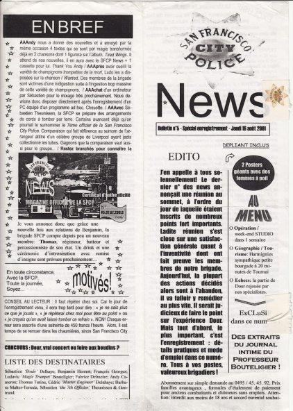 Major Deluxe 2001 journal