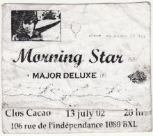 Major Deluxe 2002 flyer 1