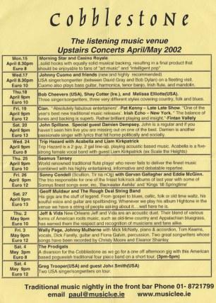 Major Deluxe 2002 flyer 3