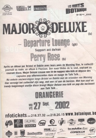 Major Deluxe 2002 flyer 5