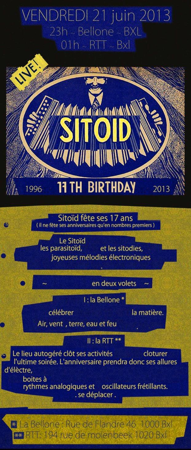 Sitoid 17 birthday